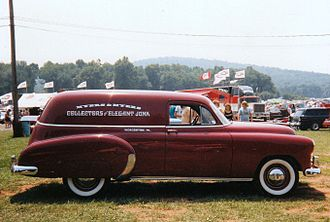 Sedan delivery - Image: 1949 Chevy Sedan delivery