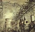 1953-01 1953年阜新发电厂高压电变压器.png
