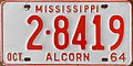 1964 Mississippi license plate.jpg