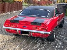 1969 Chevrolet Camaro Coupé Heckansicht