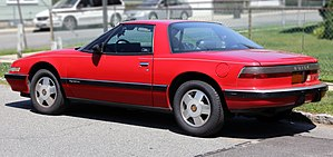 Buick Reatta - Rear view (coupe)