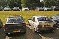 1991 Peugeot 309 GL 1.4 Magnum & 1987 Citroën BX (9776506792).jpg