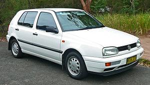 Volkswagen Golf Mk3 - Image: 1996 1998 Volkswagen Golf (1H) CL 5 door hatchback 03