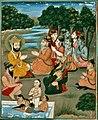 19th century Janam Sakhi, Guru Nanak meets Natha Siddhas, Kapany collection.jpg