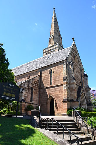 Darling Point, New South Wales - Image: 1 St Marks Church