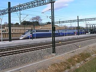 Perpignan–Barcelona high-speed rail line railway line
