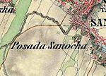 2. Militärische Aufnahme (-1869) Posada Sanocka.JPG