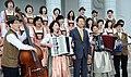 2000년대 초반 서울소방 소방공무원(소방관) 활동 사진 10.13- 한국 알펜요델카메라덴 회원들과 포즈.JPG