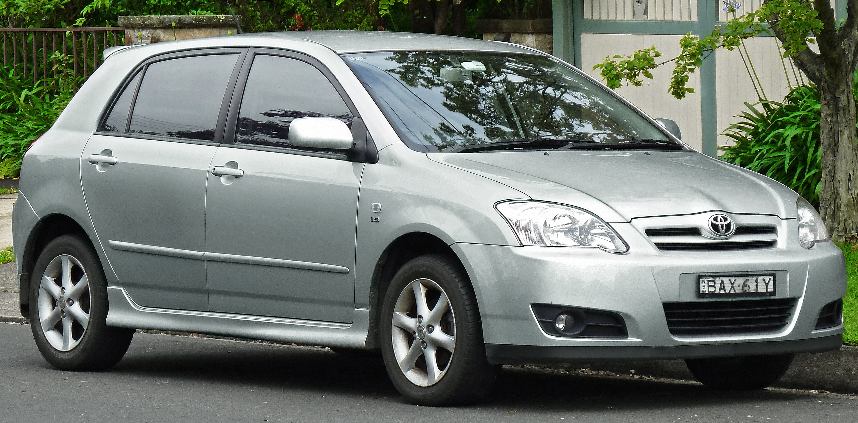 Toyota Corolla (E120) хэтчбэк