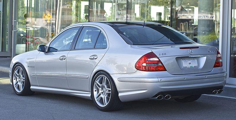 2004 Mercedes-Benz E55 AMG W211 Rear 2.jpg
