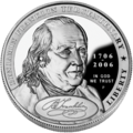 2006 Benjamin Franklin Founding Father Silver Dollar (Obverse).png