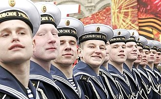 2007 Moscow Victory Day Parade - Image: 2007 Moscow Victory Day Parade 07