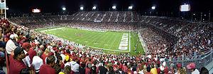 2008 Stanford Cardinal football team - Image: 2008 1115 006 USC Stanford PAN