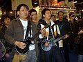 2008TaipeiGameShow Day3 Microsoft Xbox360 GuitarHero3 Players.jpg