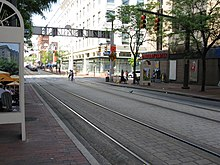 2008 05 07 - Baltimore - N Howard St at W Lexington St 3.JPG