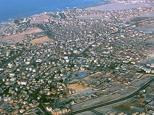 صورة جوية لمدينة الغردقة
