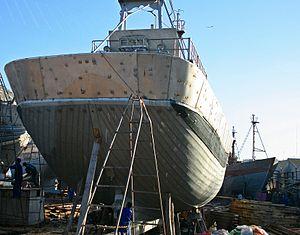 2010-12-14 Morocco Agadir fishing port shipyard 3.JPG