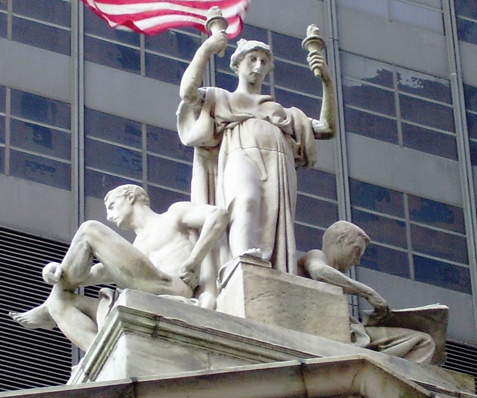 2010 Appellate courthouse Daniel Chester French Justice