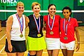 2011 US Masters International - Miami lakes - Sue Rogers & - Veronica & Theresa (Peru) (16140680282).jpg
