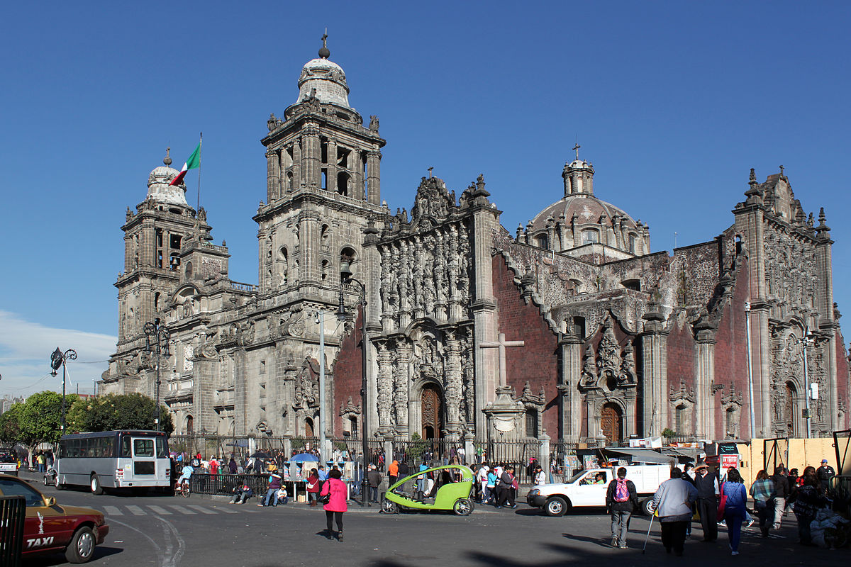 Mexico City Metropolitan Cathedral Wikimedia Commons