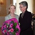 2013 Brigitte Sinhuber-Harenberg, Claudia Schmied (8824600390).jpg