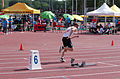 2013 IPC Athletics World Championships - 26072013 - Alexander Zverev of Russia during the Men's 400M - T13 Semifinal 11.jpg