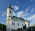 2013 Lutynia Dolna, Kościół św. Jana Chrzciciela 01.jpg