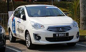 2013 Mitsubishi Attrage GS - Mitsubishi will supply Attrage sedan to Chrysler for sale in Asia