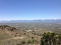 "2014-06-13 12 23 54 View southeast from the summit of ""E"" Mountain in the Elko Hills of Nevada.JPG"