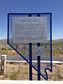 2014-07-05 11 40 20 Nevada State Historic Marker number 45 describing the Humboldt Wells in Wells, Nevada.JPG