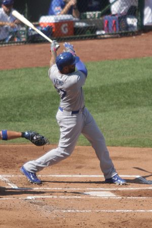 Matt Kemp - On September 19, 2014, Kemp homered on this swing in support of Clayton Kershaw's 20th victory.