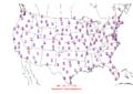 2015-10-17 Max-min Temperature Map NOAA.png