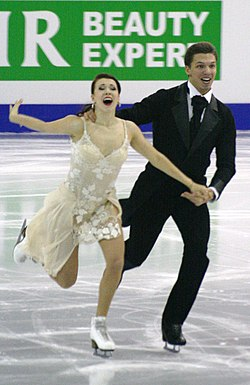 2015 Grand Prix of Figure Skating Final Ekaterina Bobrova Dmitri Soloviev IMG 8446.JPG