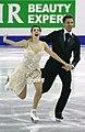 2015 Grand Prix of Figure Skating Final Ekaterina Bobrova Dmitri Soloviev IMG 8446.JPG