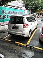2015 Suzuki Ertiga GX (rear), Kuta.jpg