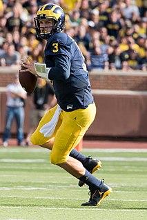 Wilton Speight American football quarterback