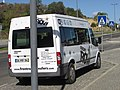 2016 Albufeira, Airport transfer bus, 10 November.JPG