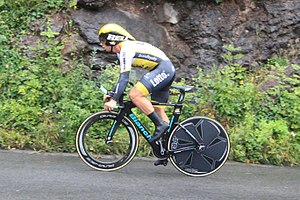 2016 Tour of Britain - Image: 2016 Tour of Britain (7a) 191 Dylan Groenewegen