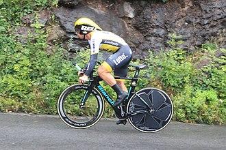 2016 Tour of Britain - Image: 2016 Tour of Britain (7a) 191 Dylan Groenewegen