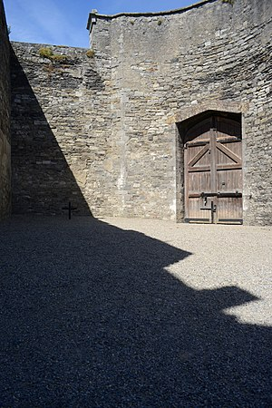James Connolly - Location of Connolly's execution at Kilmainham Gaol