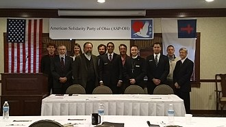 American Solidarity Party - Members of the American Solidarity Party gathered at the Carlisle Inn of Walnut Creek, Ohio for the 2017 ASP Midwestern Regional Meeting.