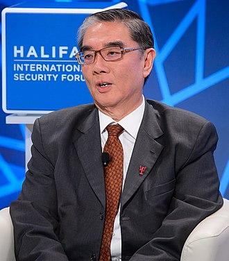 Ong Keng Yong - Ong at Halifax International Security Forum 2017