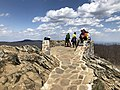 2018-04-28 13 42 00 The summit of Hawksbill Mountain on the border of Page County and Madison County within Shenandoah National Park, Virginia.jpg