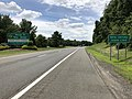 2018-07-21 13 24 37 View south along New Jersey State Route 444 (Garden State Parkway) entering Montvale, Bergen County, New Jersey from Chestnut Ridge, Ramapo, Rockland County, New York.jpg