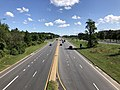 2019-08-25 11 10 15 View north along U.S. Route 1 (Washington Boulevard) from the overpass for Interstate 195 (Metropolitan Boulevard) in Arbutus, Baltimore County, Maryland.jpg