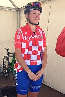 Mia Radotić Croatian cyclist