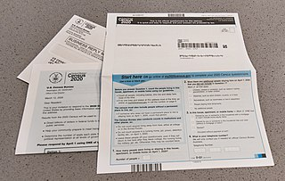 Paper census forms