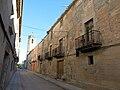 20 Carrer Major del Poal, Cal Puig i campanar de Sant Joan.JPG