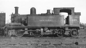 LSWR O2 class - No. 225 pictured in 1948