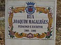 25-08-2017 Street name sign, Rua Joaquim Magalhães, Albufeira.JPG